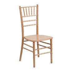 Flash Furniture Natural Wood Chiavari Chair