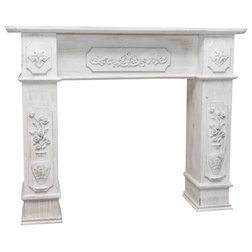Traditional Fireplace Surrounds by Biscottini International Art Trading