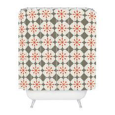 Holli Zollinger Flowerjacks Shower Curtain