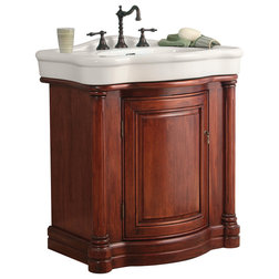 Superb Traditional Bathroom Vanities And Sink Consoles by Burroughs Hardwoods Inc
