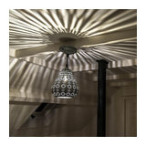 Oriental Pendant Lamp Grey - Billa