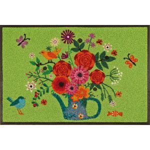 Bouquet of Flowers Door Mat, 75x50 cm
