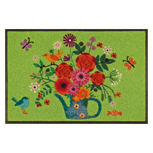Bouquet of Flowers Door Mat, 75x50 cm