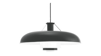 Martinet Pendant Light, Charcoal Grey