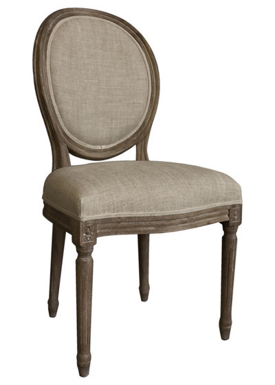 Simple Traditional Dining Chairs by Overstock