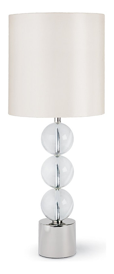 MA5-7103CH Triple Crystal Orb Lamp
