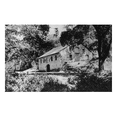 """Buena Vista Vineyard Stone Winery, Oldest in California"" Print, 24""x36"""