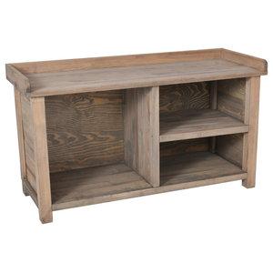 Aldsworth Wooden Welly Bench