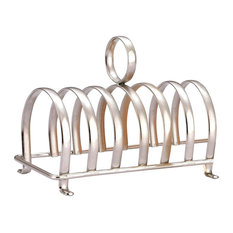 Zodiac Victorian Style Classic Chrome Plated Toast Rack With 7 Bars