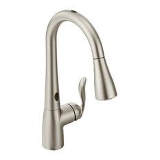 Moen Arbor 1-Handle High Arc Pulldown Kitchen Faucet, Spot Resist Stainless