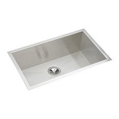 """Elkay EFU281610 1-Bowl Undermount Sink, 30.5""""x18.5"""""""