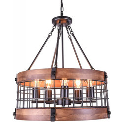 Industrial Chandeliers by Five Oaks Furniture