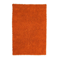 "Copper Shagadelic Chenille Twist Rug, 2'6""x4'2"""