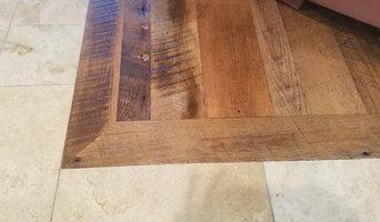 Custom Crafted, Solid, Reclaimed Hardwood Floor by Mission Hardwood Floor Co.