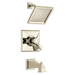 Polished Nickel Delta Faucet T14274-PN Zura Monitor 14 Series H2Okinetic Shower Trim