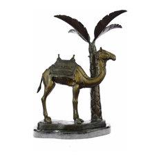 Limited Edition Sign Camel Desert Israel Bronze Statue