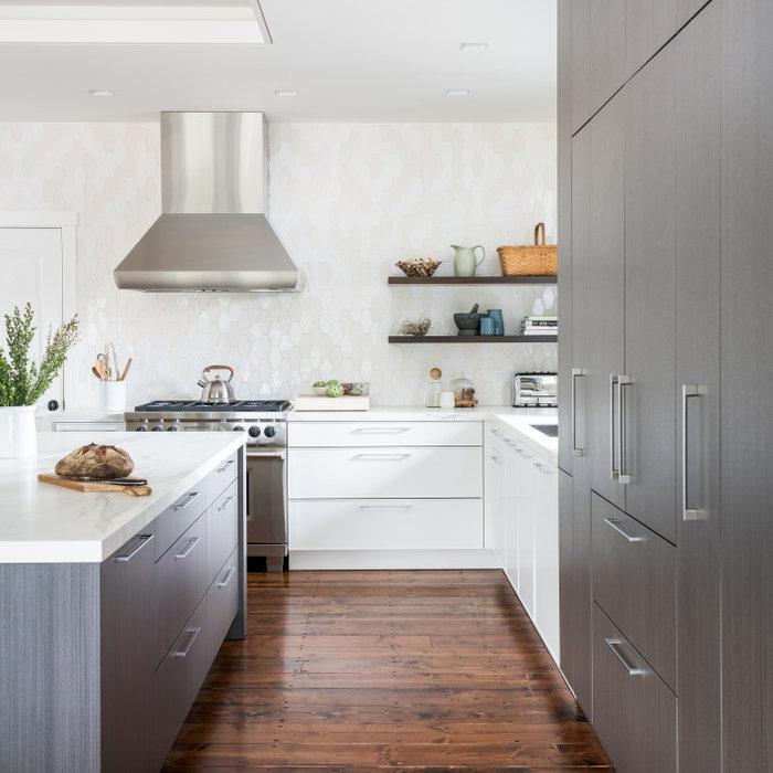 Modern Wine Country Kitchen