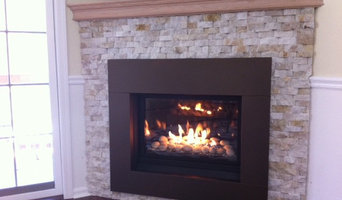 New Gas Fireplace, Greenport, NY
