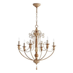 Shop cute whimsical chandeliers on houzz for your home houzz quorum lighting quorum lighting salento traditional chandelier x 49 6 6016 mozeypictures Images
