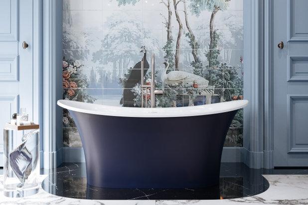 Ванная комната Victoria + Albert 60-inch tub