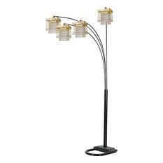 Salvador Floor Lamp, Black