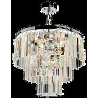 El Dorado 6-Light Chrome Chandelier