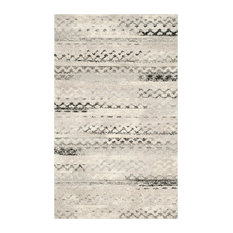 Safavieh Retro Woven Rug, Cream/Gray, 6'x9'