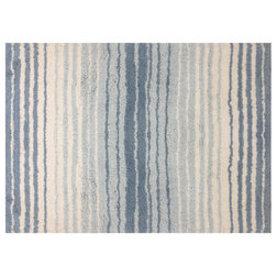 Contemporary Bath Mats by Home Weavers Inc