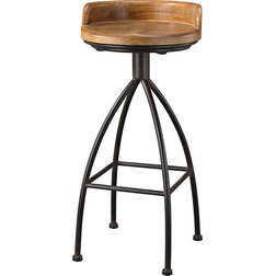 Industrial Bar Stools And Counter Stools by Zeckos