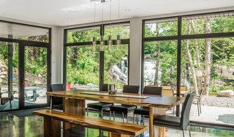 Fenêtres d'aluminium fixe et oscillo série puRE - puRe series aluminum windows