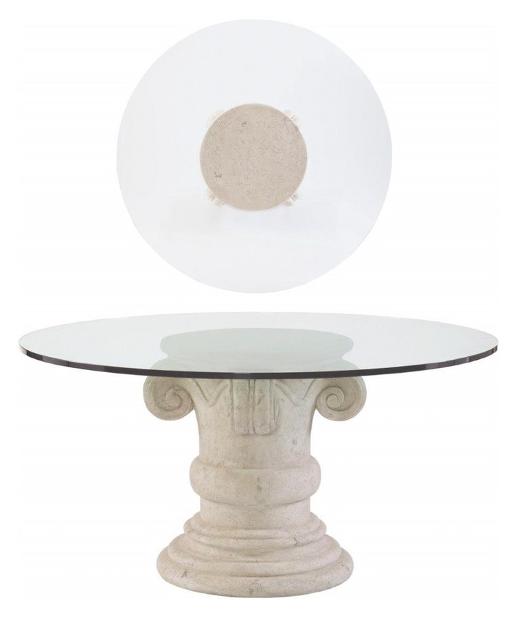 MA370-E60-370-723CH Campania Round Dining Table