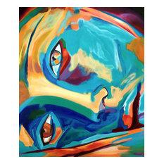 "Wierzbicki ""Doorway to the Heart II"" Oil Painting, Unframed loose canvas"