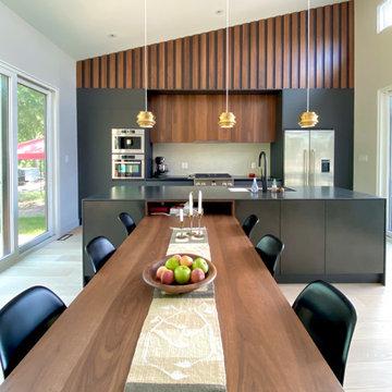 Mid Century Modern Inspired Kitchen