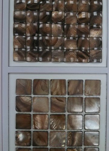Mother of Pearl Mosaic (Brown) - Tile