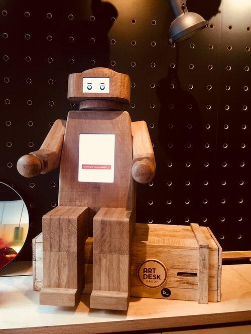 Robbie le Robot - Accessoire Décoratif