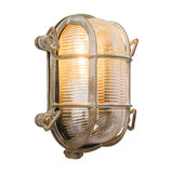 Wall/Ceiling Lamp Nautica 2 Oval Antique