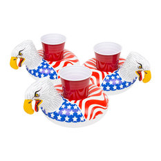 GoFloats American Screaming Eagle Drink Float, 3 Pack