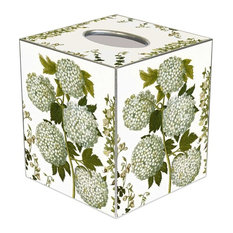 TB399 - Pale Hydrangeas Tissue Box Cover