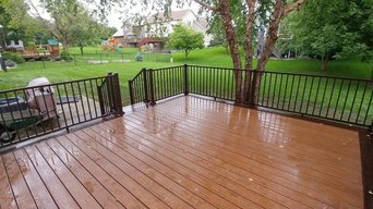 Trex Decking With Peanut Butter Cup Picture Frame