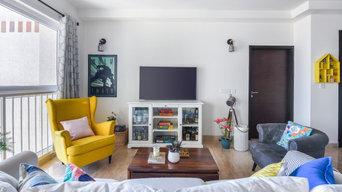 Shabby Chic Bangalore Home