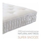 Natural Mattress - Super-Snooze Single