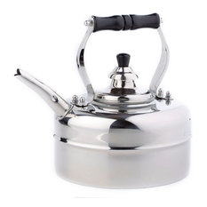 Old Dutch International - 3 Qt. Stainless Steel Windsor Whistling Teakettle - Kettles