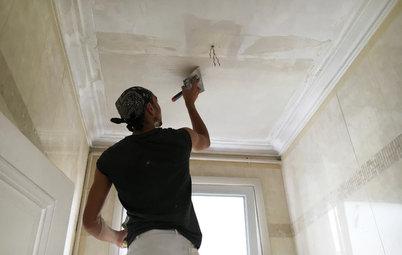 Как правильно: Выровнять потолок в квартире старого фонда