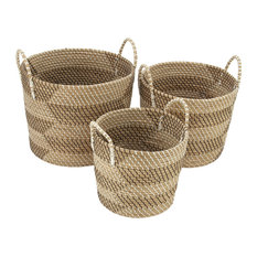 Sea Grass Baskets, 3-Piece Set
