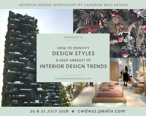 Workshop: How to identify design styles & keep abreast of Interior Design Trends - Home Accessories & Decor