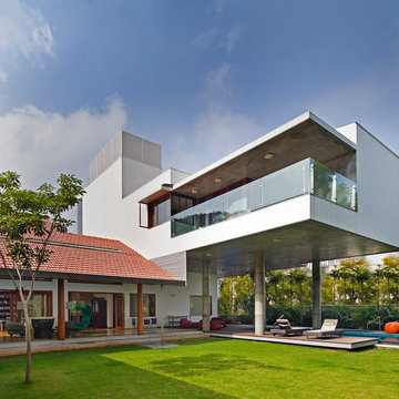 Library House-Designed By Khosla Associates-Photographed By Shamanth Patil J