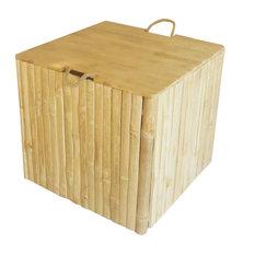 Ottoman or Trunk Square Box
