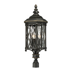 Minka-Lavery Bexley Manor Four Light Post Mount 9326-585