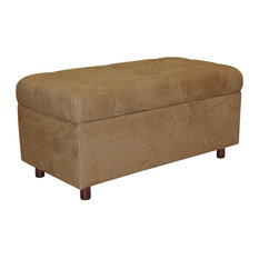 Skyline Furniture Mfg Inc   36 In. Tufted Storage Bench   Accent And  Storage Benches