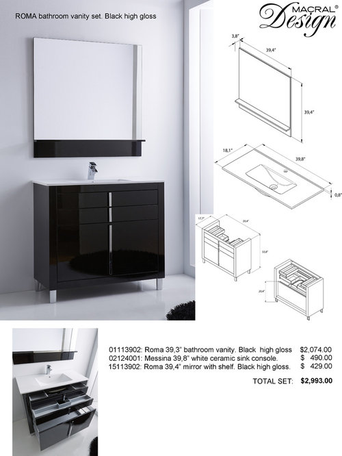 beautiful bathroom cabinets black gloss odensvik sink cabinet with - Bathroom Cabinets Black Gloss